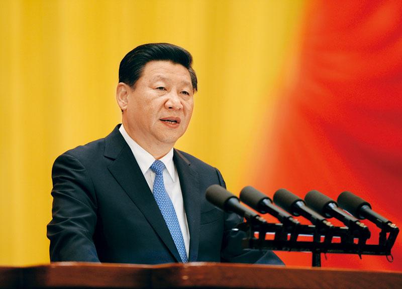 """""""习近平:在庆祝全国人民代表大会成立六十周年大会上的讲话"""