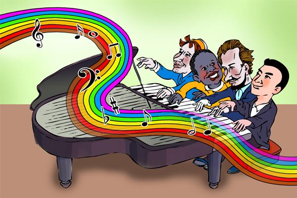 奏响合作共赢交响乐